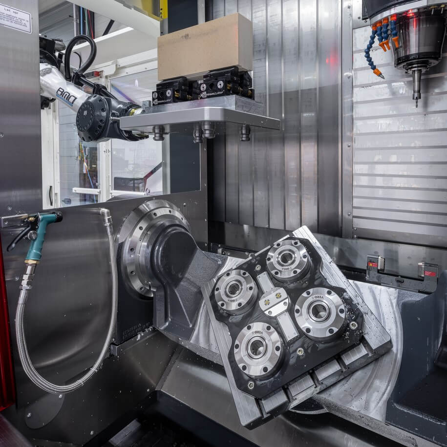Automation of Pallet loading CNC Machine
