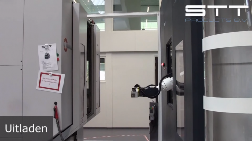 Automatisering van een Hermle C32U door een BMO Titanium 180