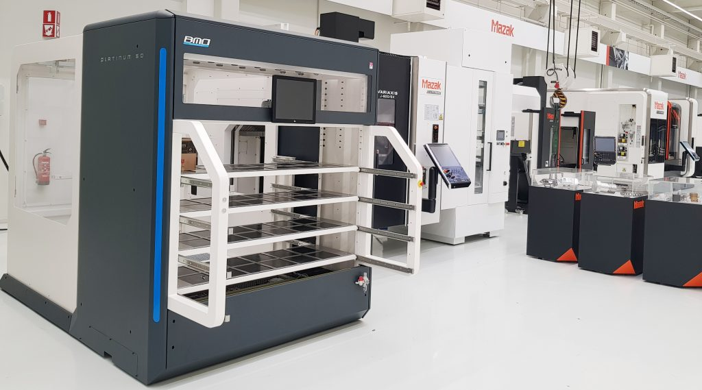 BMO Automation Platinum 50 and Mazak J600