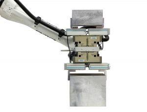 Dubbele parallelgrijper CNC automatisering