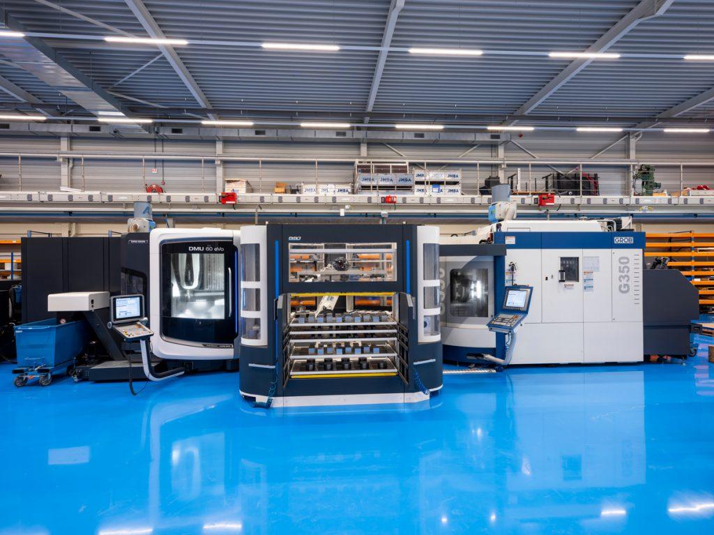 BMO Automation - Titanium 180 - DMU60 eVO en Grob G350