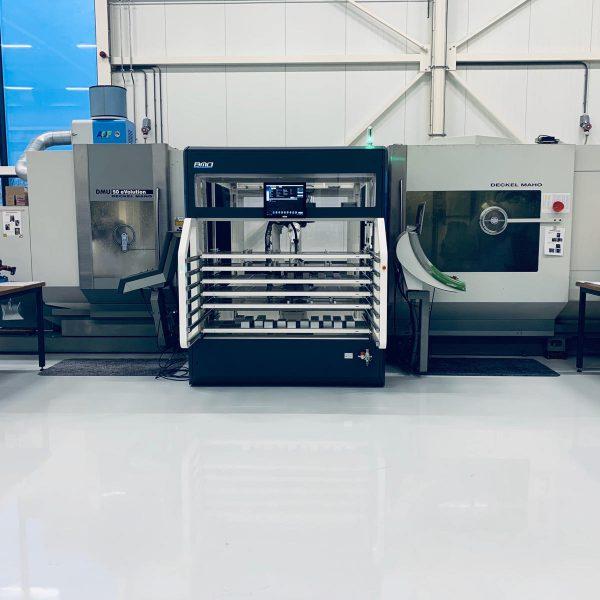 aantonen bestaande CNC machine automatiseren
